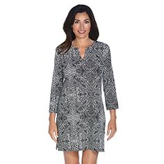 6ea9aaa328 Coolibar offers attractive and stylish UPF 50 + sun protective women s  tunics and dresses. These