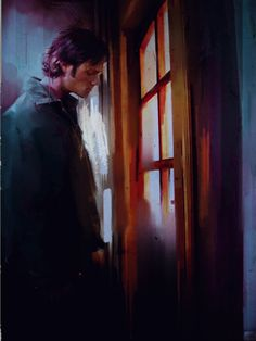 Sam Winchester fanart - artist unknown (if this is yours please leave a comment so I can give credit).