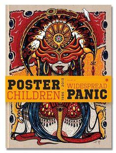 Poster Children-The Art of Widespread Panic 1986-2013 + Art Print
