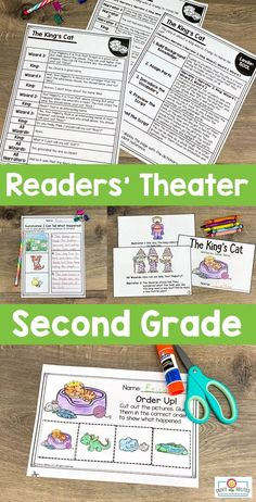 Readers' Theater Passages 2ND GRADE - This 289 page download includes ten readers' theatre plays in two different formats. Great for literacy centers, partner work, shared reading, fluency groups, and more. These are professionally leveled by Lexile. Click through to see how to use these with your second graders in the classroom or homeschool setting. #Reading #2ndGradeReading Art Lessons Elementary, Elementary Schools, Son Of Neptune, Teaching Channel, Theatre Plays, Lexile, Dramatic Play Centers, Readers Theater, School Librarian