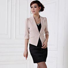 Women's Candy Color OL Suit(Blazer&Mini Skirt) – USD $ 49.69