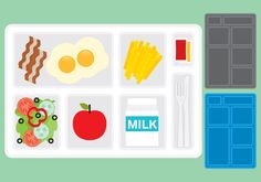 School Lunch Tray vectors 265667 -   The lunch at school is essential for eat or relax of the classes, if you eat at school you need a tray, this vector file have a tray with food and others empty with different color styles.  - https://www.welovesolo.com/school-lunch-tray-vectors-2/?utm_source=PN&utm_medium=weloveso80%40gmail.com&utm_campaign=SNAP%2Bfrom%2BWeLoveSoLo