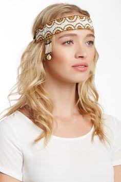Gypsy Beaded Headband by Bansri on @HauteLook