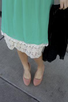 4a81d212278a5 IMG_9989 Slip Extender, Lace Slip, Modest Dresses, Modest Fashion, Dress  Skirt,