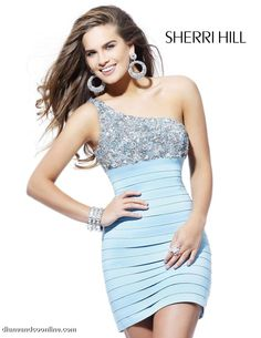 57e26a24e1d short blue bridsmaid dress Prom Dresses Blue