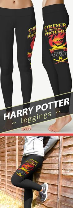 "<3 I Love These ""Order Of The Phoenix"" Harry Potter Leggins!"