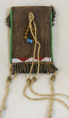 Back of Plains style strike-a-light bag--unknown maker