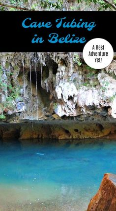 As part of my Your Best Adventure Yet, join Antoine deep under the jungles of Belize to explore the Mayan caves by inner tubes. thedailyadventuresofme.com