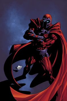 Magneto. Mike Deodato jr.  Another color version by Rain.