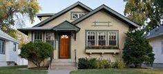 bungalow paint color exterior red - Google Search