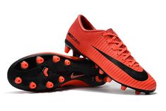 e6606ee806 NIKE SOCCER CLEATS CLEARANCE NIKE MERCURIAL VICTORY VI AG-PRO RED BLACK