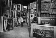 The MET's hidden treasure: the catacombs of the Metropolitan Museum of Art, New York. April 5, 1946