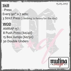 #wod #mutinacrossfit #crossfit #workout #conditioning #metabolic #endurance #weightlifting #gymnastics #barbells #strength #skills #xeniosusa #kingsbox #roguefitness #strengthshop #supportyourlocalbox #crossfitgames #like4like #likeforfollow #likeforlike #like4follow #crossfititalia #modena #mutina #igersmodena #like #follow @crossfitgames @workout @crossfitaffiliate