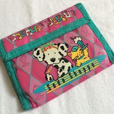 Vintage Sanrio Spottie Dottie Small Wallet Rare Spottie Dottie wallet. Velcro closure. Small Velcro pocket on inside. Bill and card slots. Excellent condition. Sanrio Bags Wallets
