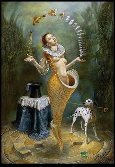 http://UpCycle.Club UpCycle Art & Life #HistoryProject merely presents the surreal Михаил Хохлачев (Michael Cheval) @upcycleclub https://www.pinterest.com/upcycleclub/upcycle-art-life-historyproject/