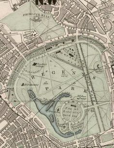 Hyde Park map 1833 In 1689 William III built The Kings Private