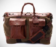 Will Leather Goods Hemingway Duffle on http://www.gearculture.com