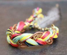 LOVELY navajo inspired bracelet from Monica Rose Jewelry on #Etsy