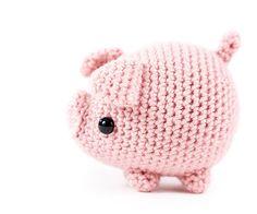 Zoomigurumi 6 - Txerri the piglet by Critterbeans - Amigurumipatterns.net