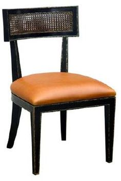 Courtney Side Chair - Mecox Gardens - $1625 Oly Studio dining chair