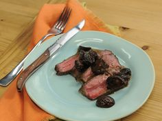 Mushroom and Red Wine Steak Sauce recipe from Jeff Mauro via Food Network