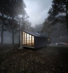 CGarchitect - Professional 3D Architectural Visualization User Community | House to catch the forest