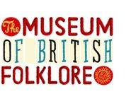 The Museum of British Folklore's logo designed by artist Johnny Hannah