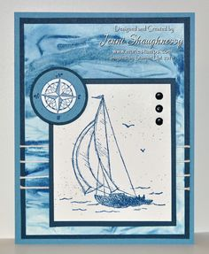Stamping Inspiration: SNEAK PEEK, Sailin' in Shaving Cream...