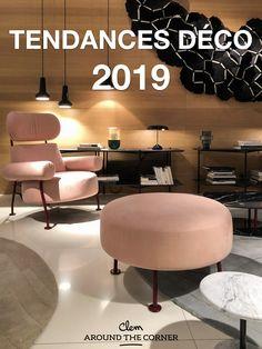 #millennialpink #ligneroset #cinna Deco Design, Design Blog, Salon Design, Deco Rose, Style Deco, Ligne Roset, Around The Corner, Bedroom Inspo, Home Goods