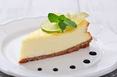 Sweet & Tart Key Lime Cheesecake