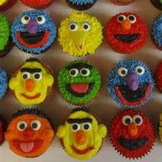 ... Cake , 6 Lovely Sesame Street Cupcakes : Sesame Street Birthday Cake
