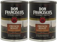 Don Francisco Gourmet Ground Coffee French Roast 12 Ounce Can Pack of 2 >>> You can get additional details at the image link. (This is an affiliate link and I receive a commission for the sales)