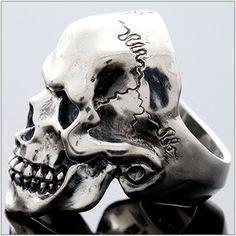 Rakuten: Silver accessories spring silver pattern skeleton (garadokuro)- Shopping Japanese products from Japan