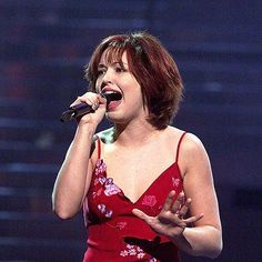 Natasha Saint-Pier - 4ème place de l'Eurovision en 2001 (France) - Photo NTB SCANPIX/SIPA