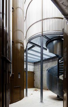 Modus Architects   Collettori di acqua calda per la rete di teleriscaldamento   Brixen, Italy   2012   http://www.modusarchitects.com/