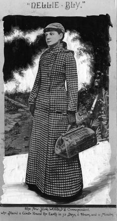 bylines a photobiography of nellie bly costume