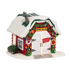 Department 56  Peanuts Village, Christmas Tree Lot house