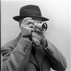Photographer Henri Cartier Bresson and Leica Camera Candid Photography, Photography Camera, Color Photography, Street Photography, Portrait Photography, Urban Photography, Vintage Photography, Henri Cartier Bresson, Ralph Gibson
