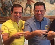 Marconi vira assessor de João Dória e abandona Goiás - via @goiasreal, nova dupla caipira foi lançada no Brasil são eles OS NOVOS MILIONÁRIO E ZÉ RICO.