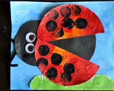 Eric Carle Inspired Lady Bug Craft