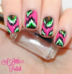 A Little Polish: The Nail Challenge Collaborative Presents - Technique Month - Week 4