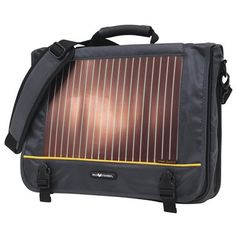 Eco Traveler 16-in Solar Laptop Messenger Bag. The versatile and durable design of the bag makes it convenient to use for anyone from bikers, hikers, students to business travelers.