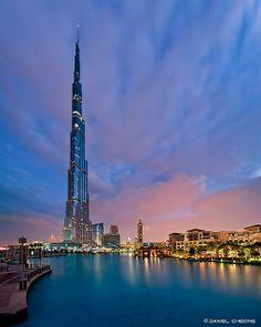 Burj Khalifa (Worlds tallest building); Dubai, United Arab Emirates