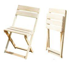как сделать раскладной стул со спинкой