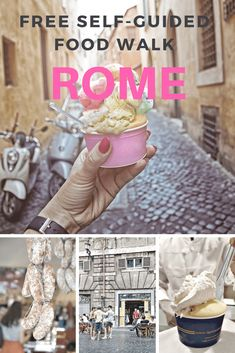 Espresso: A Morning Food Walk Through the Heart of Roome | Follow our free walking tour through Rome's historic center. This self-guided food walk will lead you to some of the city's most atmospheric stops, with plenty of stops along the way to sample fine Italian prosciutto, gelato, espresso, and more! #italy #romewalks #italytravel #freewalkingtourrome #selfguidedwalkingtourrome #traveltips #rome #roma #romethingstodo #romefoodtour