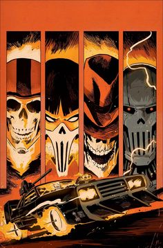 Ghost Racers #3 - Francesco Francavilla