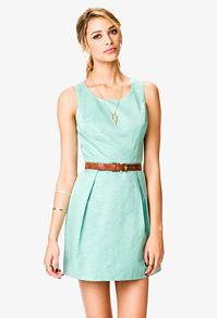 Powder blue summer dress