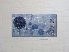 Acrylmalerei - JuniHimmel Acrylbild - ein Designerstück von SoMa-Art bei DaWanda
