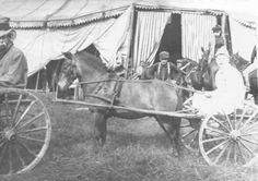 Joseph Cushing's Circus was based in Dover, New Hampshire. Many circus photographs were donated to the library.
