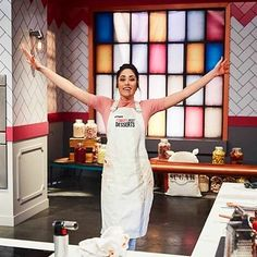 Congrats on winning tonight Brogen! Zumbo's Just Desserts contestant Brogen stylishly outfitted in a Cargo Crew Sidney Bib Apron... Available at http://www.cargocrew.com.au/aprons/apron-collections/sidney-aprons/sidney-bib-apron-sulphur.html